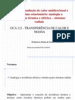 Aula 7_Analogia a resistência térmica e elétrica -sistemas radiais (1)