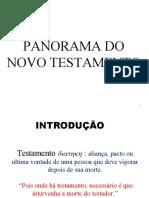 Panorama Do Novo Testamento (1)
