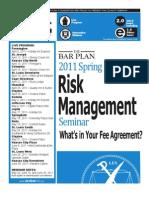 MoBarCLE 2011 Spring Risk Management brochure