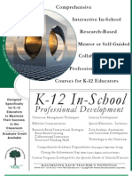 K12 Professional Development