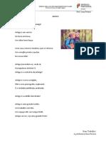 Poemas Para o Trabalho Escrito
