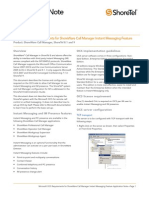 Microsoft OCS 2007 & ShoreTel Integration