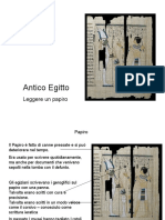 Leggere un papiro