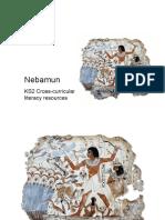Nebamun e il mestiere dello scriba