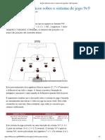 Noções básicas sobre o sistema de jogo 9v9 - 205 esportes