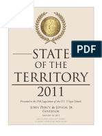 Gov. John P. deJongh Jr (Virgin Islands) 2011-state-of-the-territory