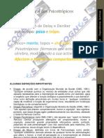 Classificação geral de psicotrópicos M3_FAP DQ