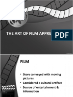 THE ART OF FILM APPRECIATION