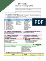 Description Des Processus Exemple de Processus Commercial