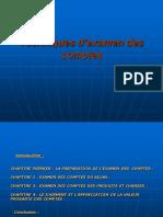 Examen Des Comptes