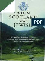 When Scotland Was Jewish (Original )