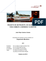 Dissertação - PROJECTO DE UM PROJÉCTIL DE CALIBRE 155mm PARA COMBATE A INCÊNDIOS FLORESTAIS
