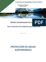 Protección de la calidad del agua subterranea-Monica Delia
