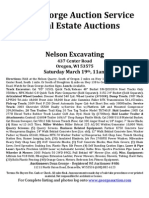Nelson Excavating Auction