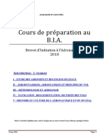 Cours BIA 2018