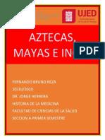 Ensayo de Aztecas^J Mayas e Incas de Historia de La Medicina