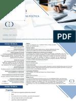 Encuesta Polimétrica sobre gestión de mandatarios nacionales