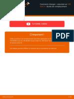 FR Comment Changer Calorstat Sur VW Golf 4 Guide de Remplacement
