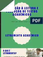 4 - PPT Letramento Acadêmico