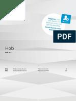 Bosch Pue645bb1e Hob
