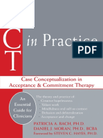 ACT Na Prática Conceituação de Caso Na Terapia de Aceitação e Compromisso