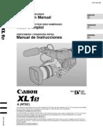 Canon Xl-1 user manual