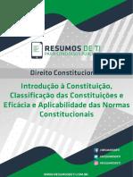 Introdução a Constituição