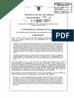 Decreto 272 Del 11 de Marzo de 2021