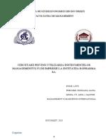 Proiect Contabilitate   Internationala
