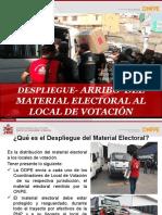 FLV EG 2021 PERÚ Despliegue-Arribo Material Electoral a Lv