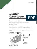 DSR-PDX10