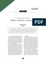 Lectura # 4 medios, audiencias y mediaciones - Guillermo Orozco