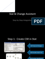 Stat & Change Assistant