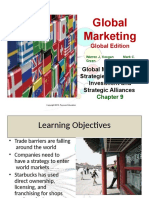 Chap 9 PPT - Global Market Entry Strategies Licensing Investment and Strategic Alliances (1)