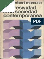 Marcuse, Herbert (1971) - La agresividad en la sociedad contemporánea