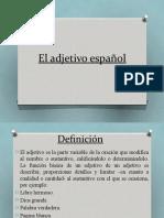 6 El adjetivo español