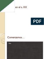 Tema 10.- Espan a en El s. XX