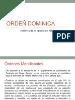 Orden Dominica