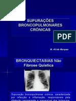 12 - Supurações Broncopulmonares Crónicas