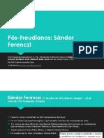 Slides Vida e Contribuições de Ferenczi