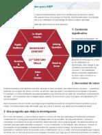 8 Elementos Esenciales Para ABP Aprendizaje Basado en Proyectos