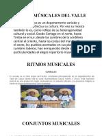 RITMOS MÚSICALES DEL VALLE