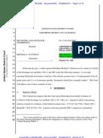 SEC v. Pattison Securities EOJ2