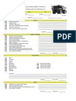 B. Camiones Check list 777D (125hrs MP1 MP2 MP3 MP4 MP5)