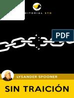 Sin Traición, Spooner - Editorial Sto