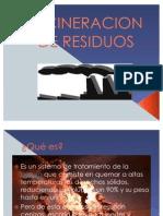 INCINERACION DE RESIDUOS1