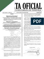 Gaceta Oficial N°42.107