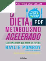 DMA Dieta Metabolismo Acelerado Haylie P