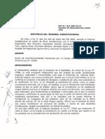 TC SOBRE CAMBIOS EN LA CONSTITUCIÓN