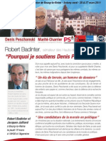 Robert Badinter, soutient Denis Peschanski et Marité Charrier